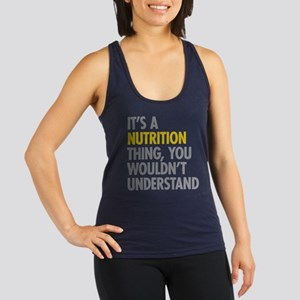 Its A Nutrition Thing Racerback Tank Top