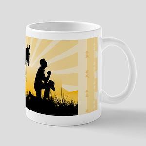 Praying Cowboy Mug
