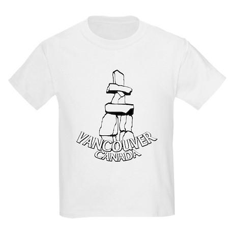 Vancouver Souvenir Kids Light T-Shirt