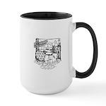 Vancouver Souvenir Large Mug