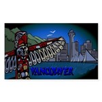 Vancouver Souvenir Sticker Vancouver Canada Sticke