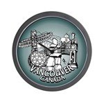 Vancouver Souvenir Cool Inukshuk Wall Clock