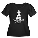 Vancouver Souvenir Women's Plus Size Scoop Neck Da