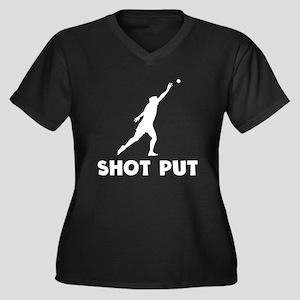 Shot Put Plus Size T-Shirt