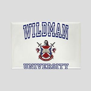 WILDMAN University Rectangle Magnet