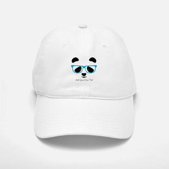Cute Panda Blue Baseball Baseball Baseball Cap