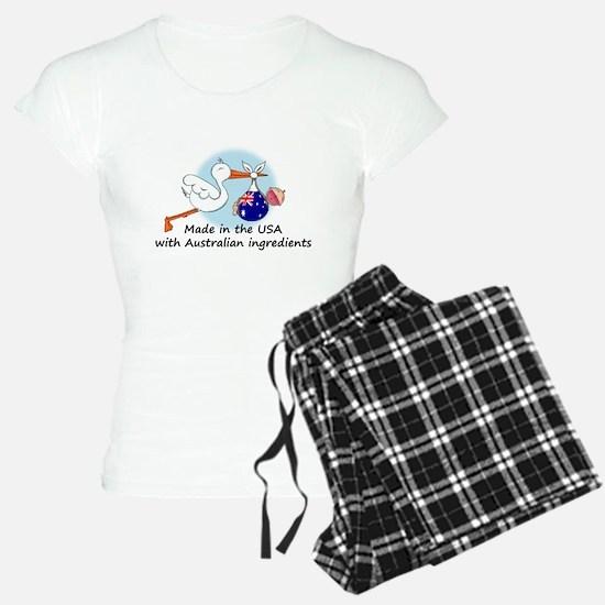 stork baby austr 2.psd Pajamas