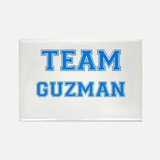TEAM GUZMAN Rectangle Magnet