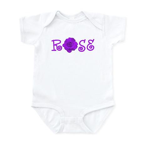Purple Rose Infant Bodysuit