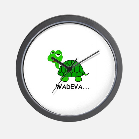The Heckcare Turtle Wall Clock