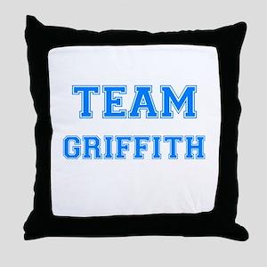 TEAM GRIFFITH Throw Pillow
