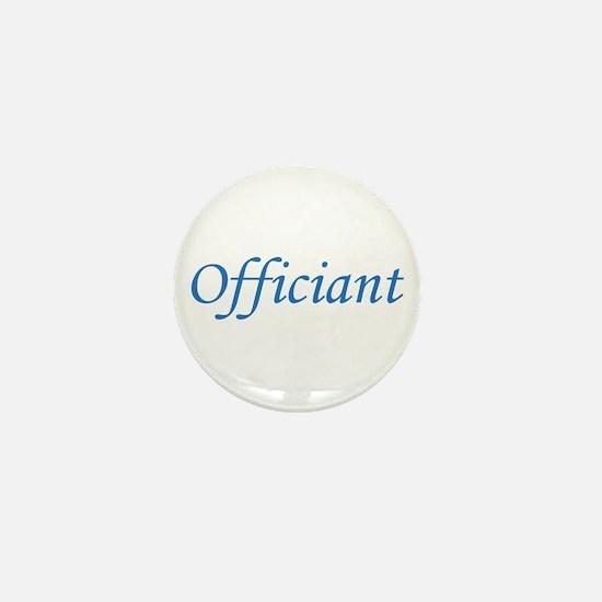 Officiant - Blue Mini Button