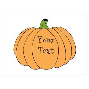 Pumpkin Invitations And Announcements Cafepress