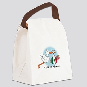 stork baby mex Canvas Lunch Bag