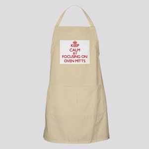 Keep Calm by focusing on Oven Mitts Apron