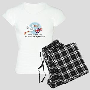 stork baby uk2 Women's Light Pajamas