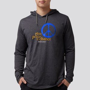 givechance_blue_dark Long Sleeve T-Shirt