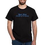 Best Man Brother of the Groom Dark T-Shirt