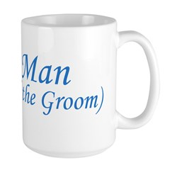 Best Man Brother of the Groom Large Mug