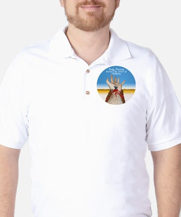 Body Piercing Golf Shirt