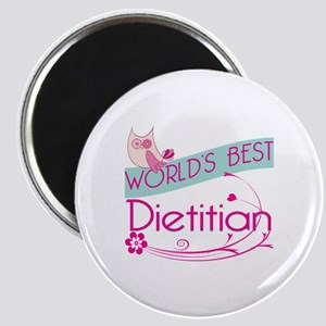 World's Best Dietitian Magnet