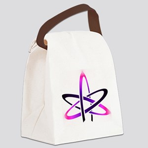 Atheist Symbol Canvas Lunch Bag