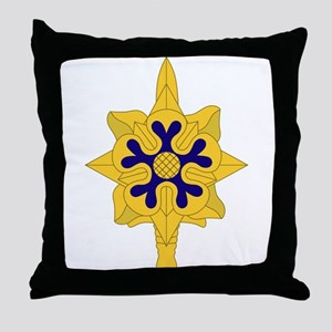 Military+Intelligence+Insignia Throw Pillow