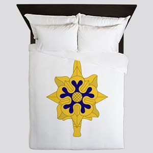 Military+Intelligence+Insignia Queen Duvet