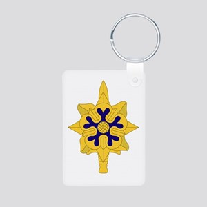 Military+Intelligence+Insignia Keychains
