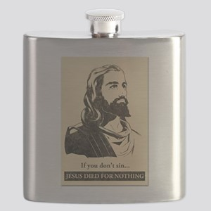 Jesus died for nothing Flask