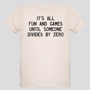 Fun And Games Divide By Zero Organic Kids T-Shirt