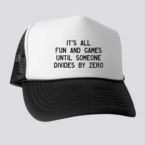 Fun And Games Divide By Zero Trucker Hat