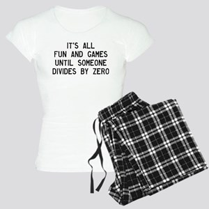 Fun And Games Divide By Zer Women's Light Pajamas