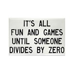 Fun And Games Divide By Rectangle Magnet (10 pack)