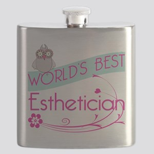 World's Best Esthetician Flask