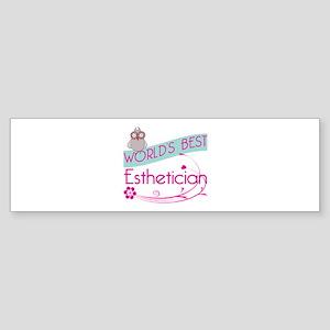 World's Best Esthetician Sticker (Bumper)