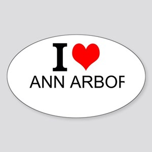 I Love Ann Arbor Sticker