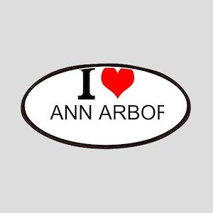 I Love Ann Arbor Patches
