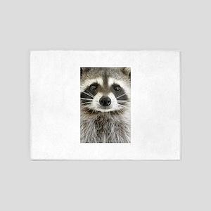 Raccoon 5'x7'Area Rug
