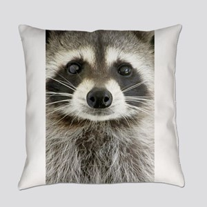Raccoon Everyday Pillow