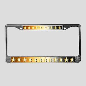 BEAR Stars - License Plate Frame