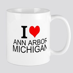 I Love Ann Arbor Michigan Mugs