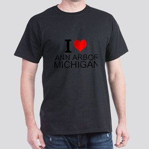 I Love Ann Arbor Michigan T-Shirt