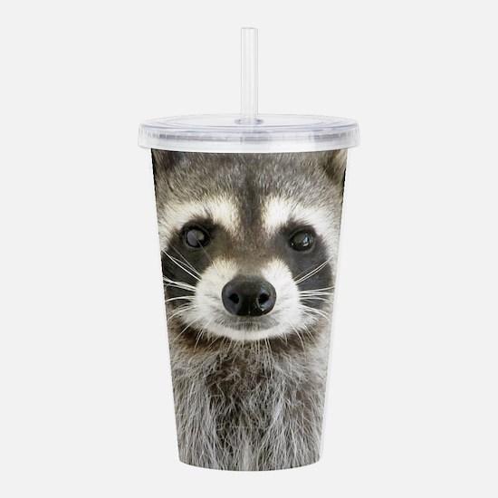 Raccoon Acrylic Double-wall Tumbler