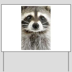 Raccoon Yard Sign