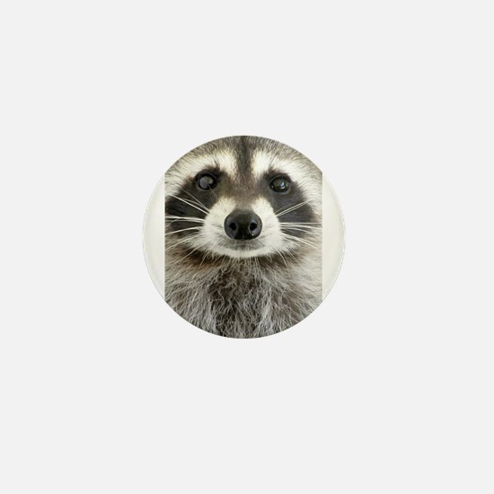 Raccoon Mini Button