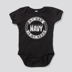 U.S. Navy My Dad Is My Hero Body Suit