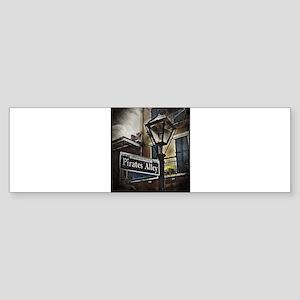 Pirates Alley Bumper Sticker