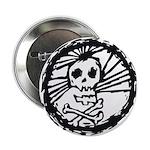Skull Wheel - Abstract Button