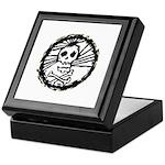 Skull Wheel - Abstract Keepsake Box